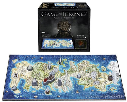 4D Mini Puzzel - Game of Thrones Westeros (350 stukjes)-3