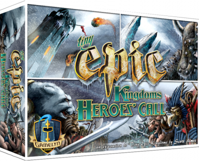 Tiny Epic Kingdoms Heroes Call Expansion