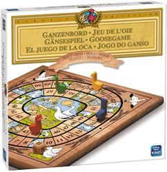 Houten Ganzenbord