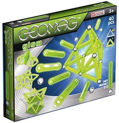 Geomag Glow - 40 delig