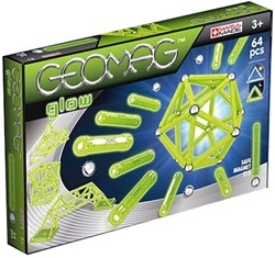 Geomag Glow - 64 delig