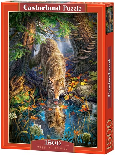 Wolf in the Wild Puzzel (1500 stukjes)