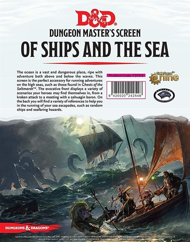D&D - Of Ships and the Sea DM Screen
