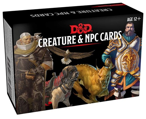 Dungeon & Dragons - Creature and NPC Cards