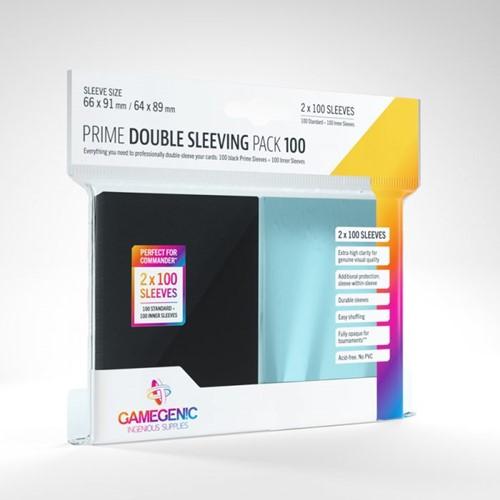Sleeves Prime Double Sleeving Pack (100 stuks)
