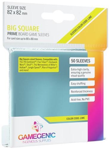Sleeves Prime Big Square-Sized 82x82mm (50 stuks)