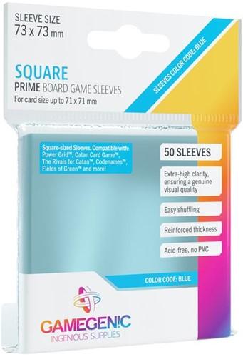 Sleeves Prime Square-Sized 73x73mm (50 stuks)