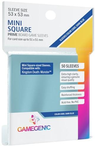Sleeves Prime Mini Square-Sized 53x53mm (50 stuks)