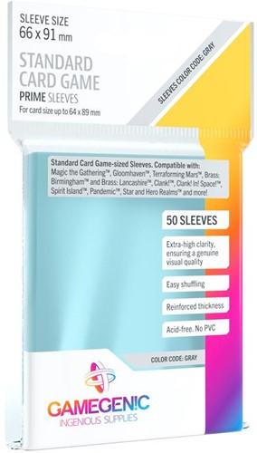 Sleeves Prime Standard Card Game 66x91mm (50 stuks)