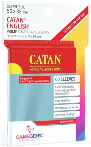 Sleeves Prime Catan-Sized 56x82mm (50 stuks)
