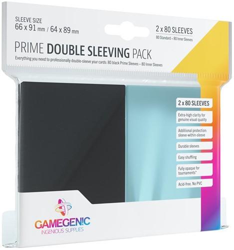 Sleeves Prime Double Sleeving Pack (80 stuks)
