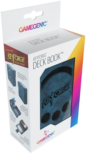 Deckbox Keyforge Deck Book Blauw