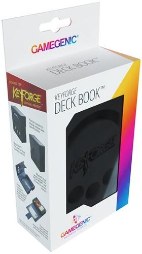 Deckbox Keyforge Deck Book Zwart