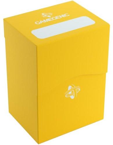 Deckbox 80+ Geel