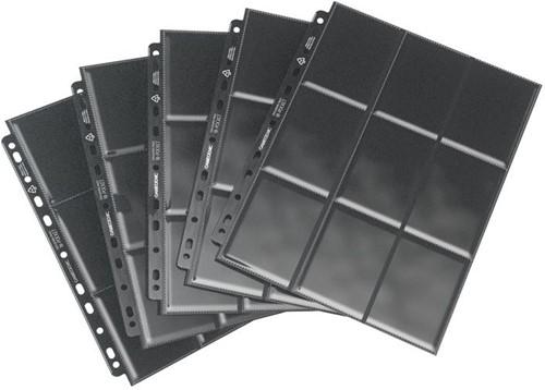 Sideloading 18-Pocket Pages Zwart (50 stuks)