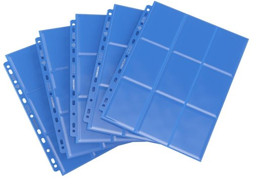 Sideloading 18-Pocket Pages Blauw (50 stuks)