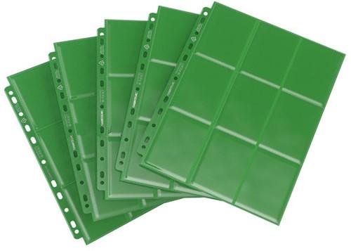 Sideloading 18-Pocket Pages Groen (50 stuks)