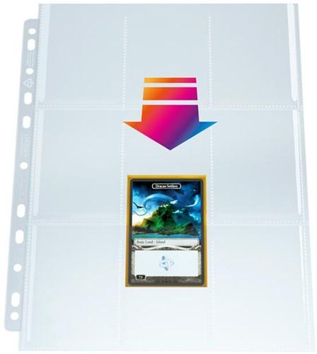 Toploading Ultrasonic 9-Pocket Pages (50 stuks)