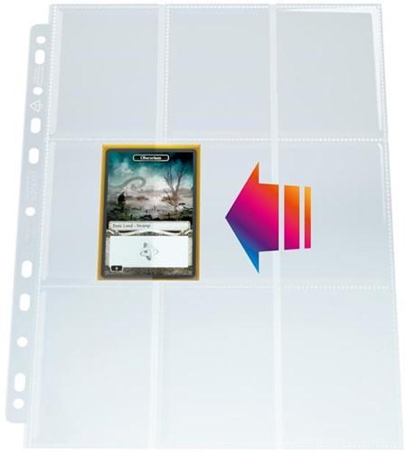 Sideloading Ultrasonic 9-Pocket Pages (50 stuks)