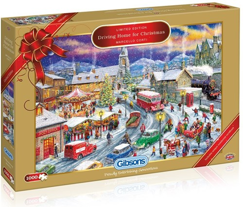 Driving Home for Christmas - Limited Edition Puzzel (1000 stukjes)