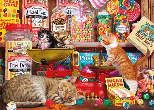 Paw Drops & Sugar Mice - Gift Box - Steve Read Puzzel (500 stukjes)
