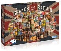 The Brands That Built Britain Puzzel (500 XL)