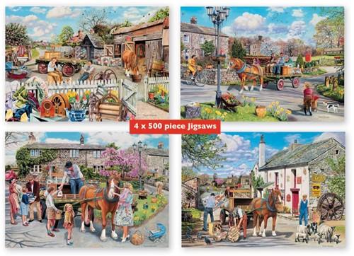 Rag & Bone Puzzel (4 x 500 stukjes)-2
