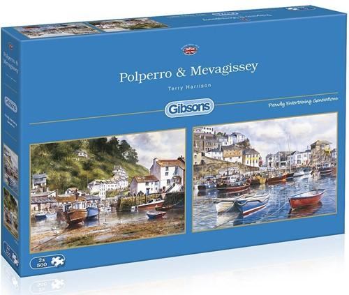 Polperro & Mevagissey Puzzel (2 x 500 stukjes)
