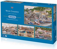 West Country Puzzel (4 x 500 stukjes)
