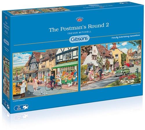 The Postman's Round 2 Puzzel (2 x 500 stukjes)