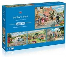 Bobby's Beat Puzzel (4 x 500 stukjes)