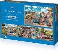The Country Bus Puzzel (4 x 500 stukjes)