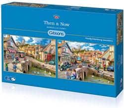 Then & Now Puzzel (2 x 500 stukjes)