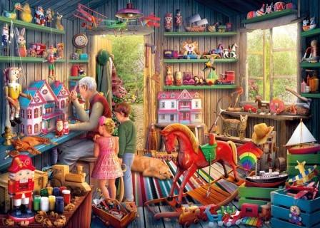 Toymaker's Workshop Puzzel (1000 stukjes)-2