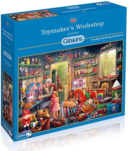 Toymaker's Workshop Puzzel (1000 stukjes)
