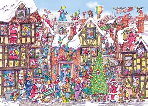 Seventy-Six Santas Puzzel (1000 stukjes)