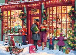 Christmas Toy Shop - Steve Read Puzzel (1000 stukjes)