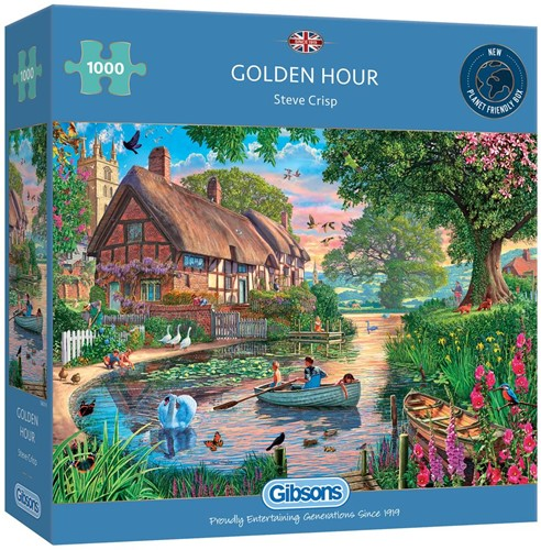 Golden Hour Puzzel (1000 stukjes)
