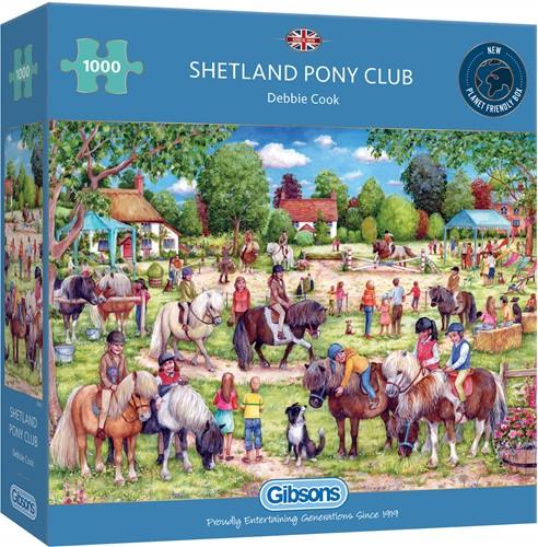 Shetland Pony Club Puzzel (1000 stukjes)