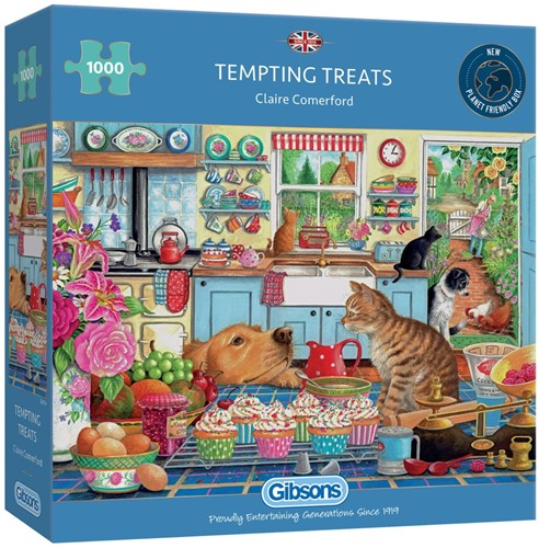 Tempting Treats Puzzel (1000 stukjes)
