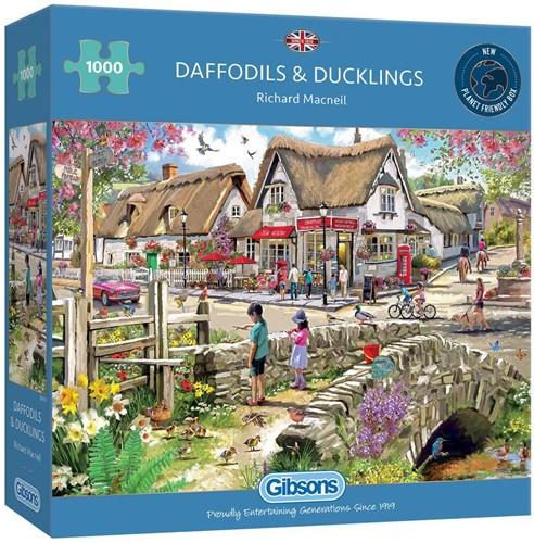 Daffodils & Ducklings Puzzel (1000 stukjes)