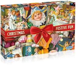 Christmas Festive Fun Puzzel (1000 stukjes)
