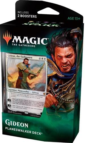 Magic The Gathering - War of the Spark Planeswalker Deck Gideon