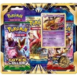 Pokemon Giratina 3-Boosterblister