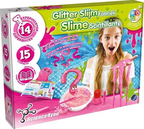 Science4You - Glitter Slijm Fabriek