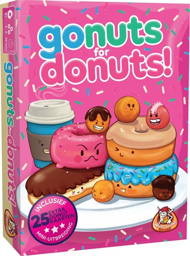 Go Nuts for Donuts - Kaartspel