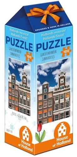 Hollands Mooiste - Grachtenpanden (100 stukjes)-1