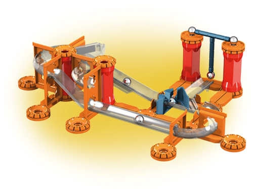 Geomag Mechanics Gravity - Magnetic Track (115 delig)-2