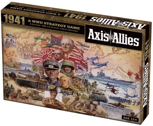 Axis & Allies 1941 (Doos beschadigd)