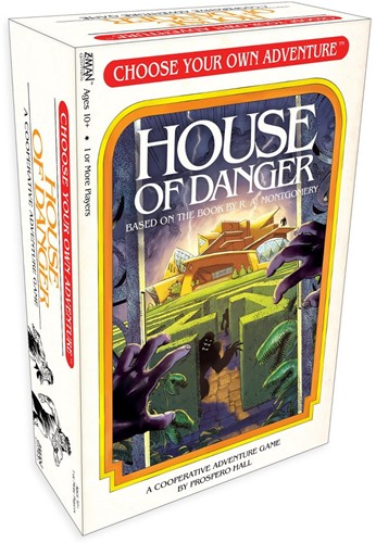 House of Danger - Kaartspel